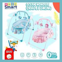 Bebe Smart Ocean Wonders Cradle Swing Bouncer Ayunan Bayi Electrik