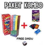 Paket Uno Stacko + Flip Card