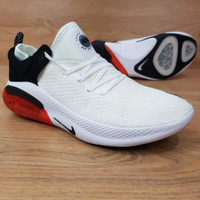 Sepatu Sneakers Nike Joyride Run Flyknit White Red