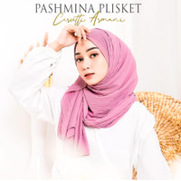PASHMINA PLISKET/PLEATED SHAWL CERUTY ARMANI