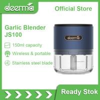 Deerma Garlic Chopper Mini JS100 Penggiling daging elektronik sayuran
