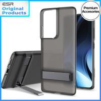 ESR Air Boost Case Samsung Galaxy S21 Ultra Plus Soft Casing Softcase - S21 Ultra, Smoke