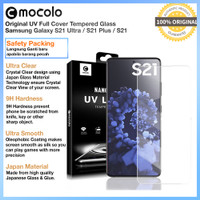 Mocolo Full Tempered Glass Samsung S21 Ultra S21 Plus Anti Gores Kaca