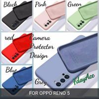 softcase oppo reno 5 case anti noda silicon bahan lentur cover reno 5