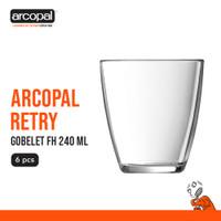 Gelas Mineral Arcopal Retry - Gobelet Fh 240 Ml Box of 6