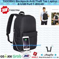 TIGERNU Backpack Anti Theft Tas Laptop & USB Port T-B3249