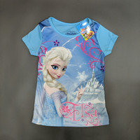 Disney Original Frozen Kaos Baju Anak Perempuan Pakaian 16021573