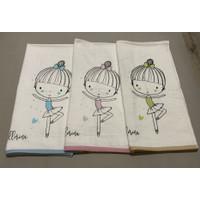 handuk anak karakter ballerina terry palmer 60x120