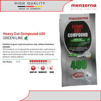 Menzerna Heavy Cut Compound 400 Green Line Sample Sachet 20ml