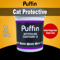 Cat Kapal Puffin Anti Fouling Coastgard 12 Cat marine protective - 1 Kg