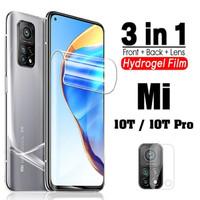 XIAOMI MI 10T / MI 10T PRO HYDROGEL FRONT & BACK & CAMERA GLASS