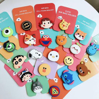 PopSocket Karakter 3D Cartoon Lucu - Griptok Handphone Holder Phone 3D