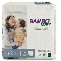 bambo bamboo Nature Dream pants diaper Popok Celana no 6 isi 18