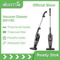 Deerma DX115C Portable Handheld Vacuum Cleaner Household Silent Strong