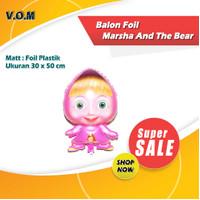 Balon Foil Marsha and The Bear