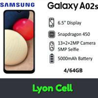 Samsung galaxy A02s Ram 4/64 GB