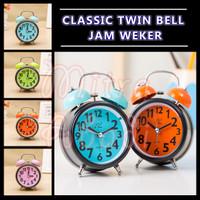 Jam Weker Klasik Twin Bell / Alarm Clock Classic Twin Bell