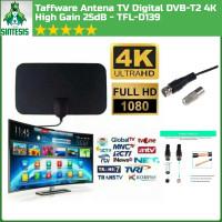 Antena Antene TV Digital Indoor Dalam Ruangan Rumah Mini DVB-T2 4K