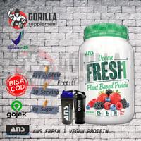 ANS VEGAN FRESH 2LBS 900 gram plant based protein vegan