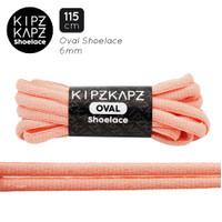 KIPZKAPZ OSP11 Pink Salmon - Tali Sepatu Oval / Oval Shoelace 6mm