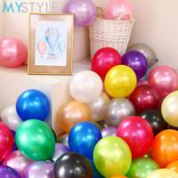 Balon Latex Metalik / Balon Latel Metallic Satuan ECER