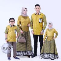 fashion anak perempuan gamis batik anak pakaian muslim anak kombinasi