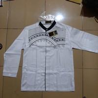 Baju Koko RFM remaja SMA putih panjang