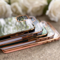 GOLD PLATING CASE iPhone 11 11 Pro 11 Pro Max 7 8 Plus X XS Max XR SE