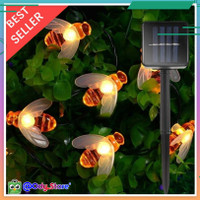 Lampu Hias Waterproof Dekorasi Gantung Outdoor Taman Cafe Rumah kamar - 30 LED, Warm White