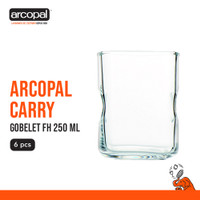 Gelas Mineral Arcopal Carry - Gobelet Fh 250 Ml Box of 6