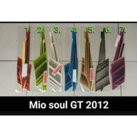 POLET Sticker Stiker Striping Motor Yamaha Mio Soul GT 2012