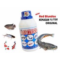Red Bluedox 1 LITER ,anti jamur, parasit, bakteri, kuman, luka, kutu