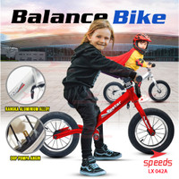 Sepeda Anak Sepeda Mini Balance Bike Sepeda Keseimbangan Push Bike 042 - Merah