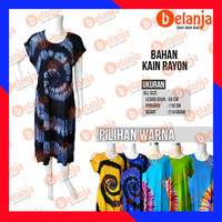 Baju Daster Jersey Lengan Panjang Pelangi Oleh Oleh Khas Bali