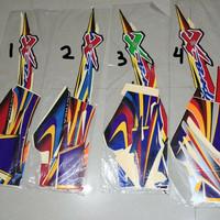 Stiker Bodi & Lis Body & Striping Supra X 2004