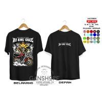 BAJU KAOS T'SHIRT MOTOR RX KING 125CC - KAOS SUNMORI RX KING