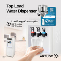 Top-Load Water Dispenser ARTUGO AD 10 (Bottom Cabinet)