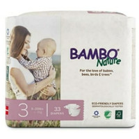 Bambo bamboo Nature Dream tape diapers Popok perekat no 3 isi 33
