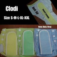 Unik Clodi celana lampin cuci ulang bayi kancing plastik Limited