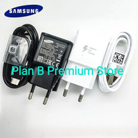 Charger SAMSUNG Galaxy A41 A42 A50 A50S Fast Charging 15W ORIGINAL - Hitam