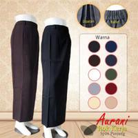 rok span panjang syakira rok kerja lipit belakang
