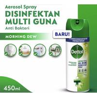 Dettol Spray Disinfectant Morning Dew 450ml ( KHUSUS PULAU BALI )