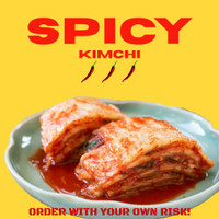 Spicy Kimchi Fresh 500gr
