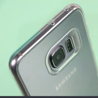 Samsung S7 edge jelly clear ultra bening softcase - clear