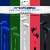 Earphones AVEN N21 Premium Sound Handsfree