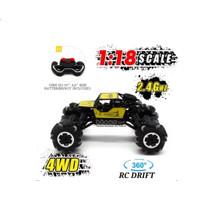 RC 4WD Rock Crawler 1:18 Die Cast 2.4G | Mainan remote control mobil