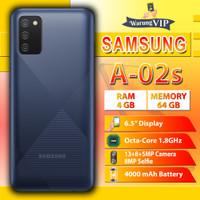 Samsung Galaxy A02s 4/64 RAM 4GB Internal 64GB Garansi Resmi SEIN