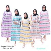 Daster Kaos Busui lengan panjang Baju longdress fashion wanita murah