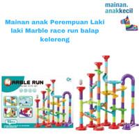 Mainan anak Perempuan Laki laki Marble race run balap kelereng