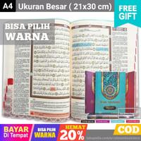 Alquran Ash Shahib A4 - Al Quran Terjemah - Al-Quran Tajwid - Original